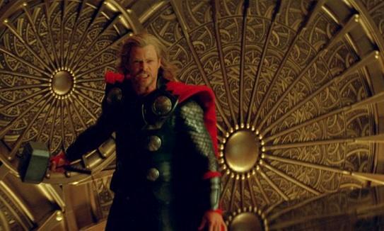Thor throws a wobbler...
