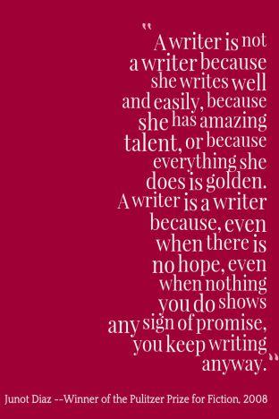 Keep Writing Anyway