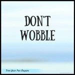 dont-wobble