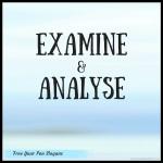 examine-analyse