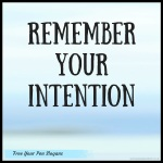 remember-your-intention