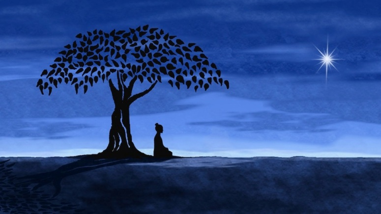 buddha-under-tree-with-star