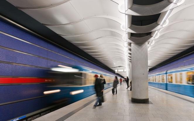 Train Station blur