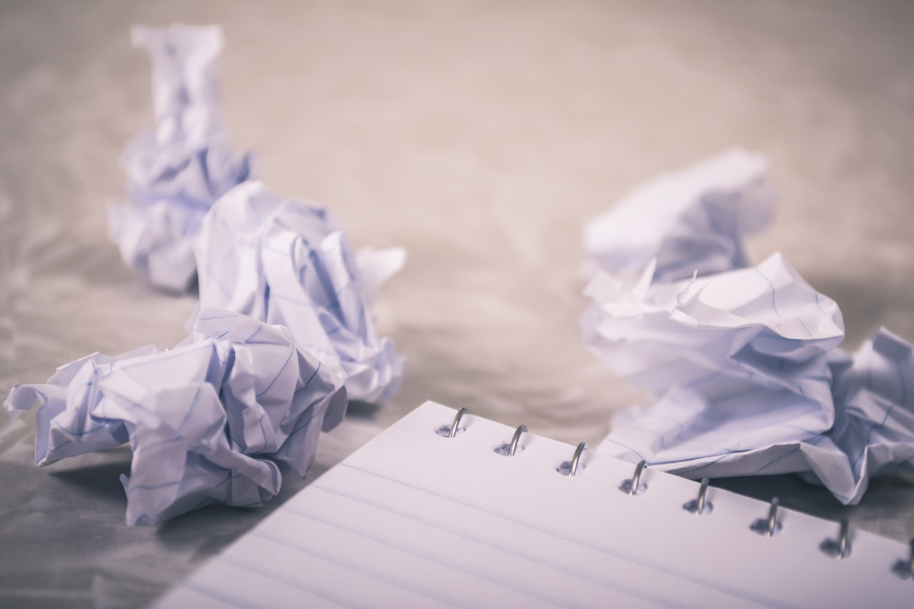 Writer's Challenges: from Language to Rejection